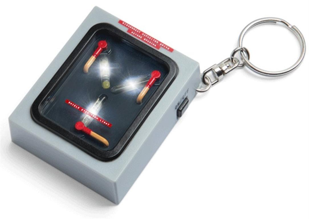 Flux Capacitor Keychain
